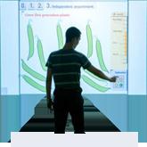 Интерактивная мультитач стена I-Wall